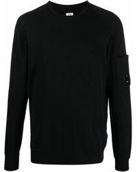 C.P. Company Cotton Jumper - Black