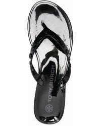 Tory Burch Flip Flops - Black