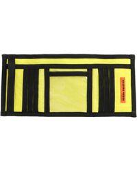 Heron Preston Hmnc005f198160041588 Synthetic Fibres Wallet - Yellow