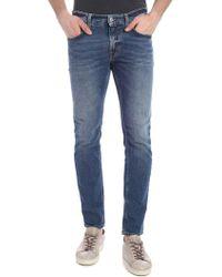 Department 5 Blue Cotton Jeans