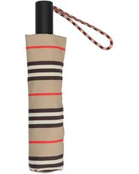 Burberry Polyester Umbrella - Natural