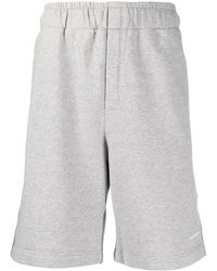 Golden Goose Cotton Shorts - Grey