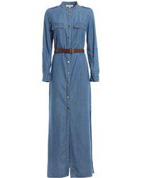 Michael Kors Denim Long Dress - Blue