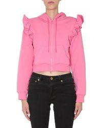 Moschino BAUMWOLLE SWEATSHIRT - Pink