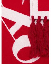 Palm Angels Scarf - Red