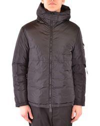 Add Polyester Outerwear Jacket - Black