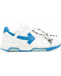Off-White c/o Virgil Abloh Vulcanized Sneakers - Weiß