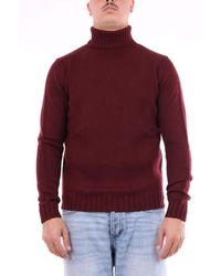 Heritage WOLLE SWEATER - Rot