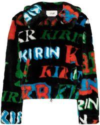 Kirin Kwep006f20fab0021055 kunststoff jacke - Schwarz
