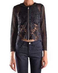 Pinko Black Polyester Jacket