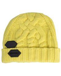 Off-White c/o Virgil Abloh Logo Beanie - Yellow