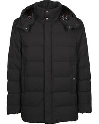 Woolrich Black Polyester Down Jacket