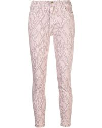 J Brand - Skinny-Jeans mit Schlangenleder-Print - Lyst