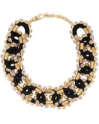 DSquared² Gold Metal Necklace - Metallic