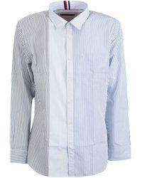 Tommy Hilfiger - Cotton Shirt - Lyst