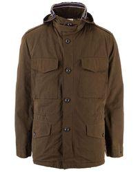Jacob Cohen Cotton Outerwear Jacket - Green