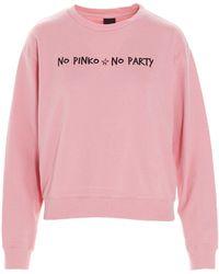 Pinko ANDERE MATERIALIEN SWEATSHIRT - Pink