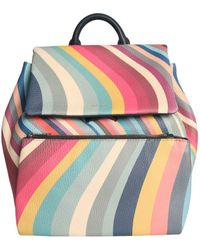 Paul Smith Multicolour Leather Backpack