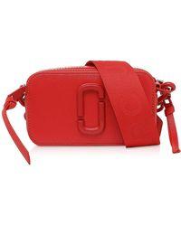 Marc Jacobs - Red Leather Shoulder Bag - Lyst