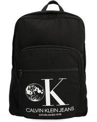 Calvin Klein Black Polyester Backpack