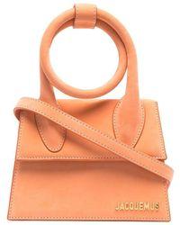Jacquemus Leather Handbag - Orange
