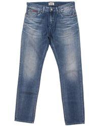 Tommy Hilfiger Blue Cotton Jeans