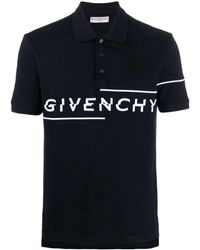 Givenchy Cotton Polo Shirt - Black