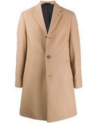 Calvin Klein Brown Wool Coat