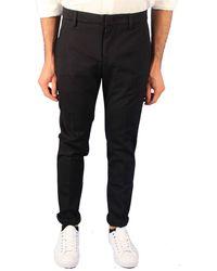 Dondup Black Wool Pants
