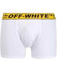 Off-White c/o Virgil Abloh Shorts mit Industrial-Bund - Weiß