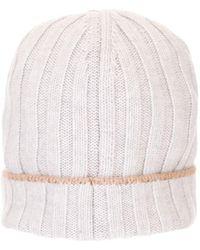 Brunello Cucinelli White Wool Hat
