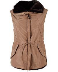 Aspesi 1n26g40901323 Polyester Vest - Brown