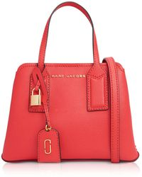 Marc Jacobs Edtor Tote Bag 29 Shopper in Pelle - Rosso