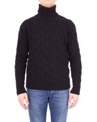 Jeordie's Black Wool Sweater