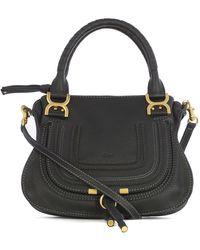 Chloé Marcie Crossbody Bag Black - Schwarz