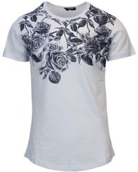 Imperial White Cotton T-shirt