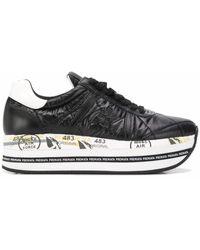 Premiata - Polyester Sneakers - Lyst
