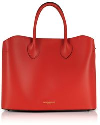 Le Parmentier Red Leather Handbag