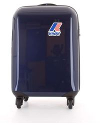 K-Way Blue Other Materials Trolley