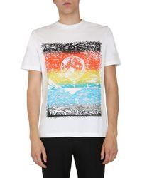 Paul Smith Round Neck T-shirt - Multicolour