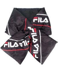 Fila Synthetic Fibers Scarf - Black