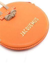Jacquemus LEDER KURIERTASCHE - Orange