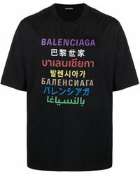 Balenciaga T-SHIRT - Schwarz