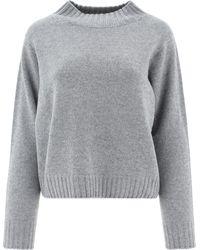 Fabiana Filippi Mad221w0878132 andere materialien sweater - Grau
