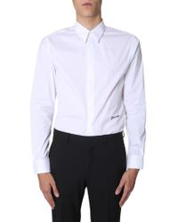 Givenchy White Cotton Shirt