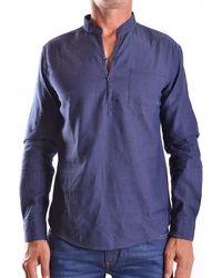 Armani Jeans Cotton Shirt - Blue