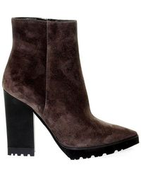 Roberto Festa Suede Ankle Boots - Gray