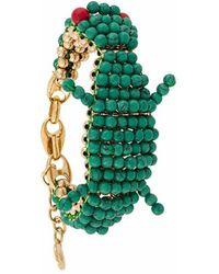 Lanvin Metal Bracelet - Green