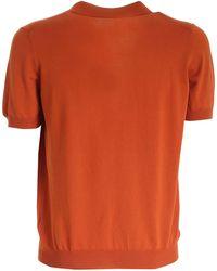 Tagliatore BAUMWOLLE POLOSHIRT - Orange