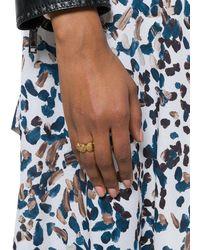 Versace 'Medusa' Ring - Mettallic